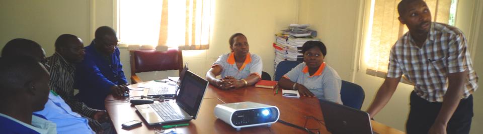 Mpanga Social media Training